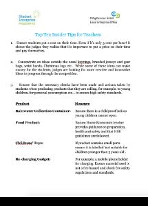 Teacher Tips Junior
