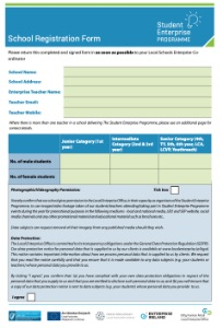 school registration form